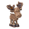 9.9-in H Moose Design Garden Statue