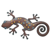 Garden Treasures 16.75-in W x 12-in H Gecko Metal Wall Art