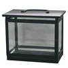 allen + roth 10.25-in H Black Metal Outdoor Decorative Lantern