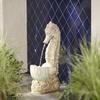 Garden Treasures 26-in Outdoor Fountain