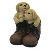 10.88-in H Puppy Garden Statue