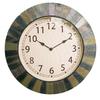 Garden Treasures Indoor/Outdoor Hand-Painted Slate Transitional Clock