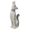 Garden Treasures 26.5-in Coyote Garden Statue