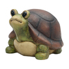 Garden Treasures 8.25-in Turtle Design Garden Statue