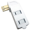Utilitech Single-to-Triple White 2-Wire Adapter