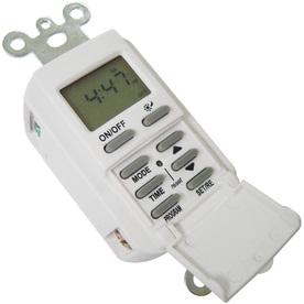Shop Utilitech 15 Amp Digital Residential Hardwired Countdown Lighting Timer