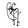 American Bath Factory 3-Handle Fixed Freestanding Bathtub Faucet