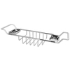 American Bath Factory Chrome Solid Brass Bathtub Caddy