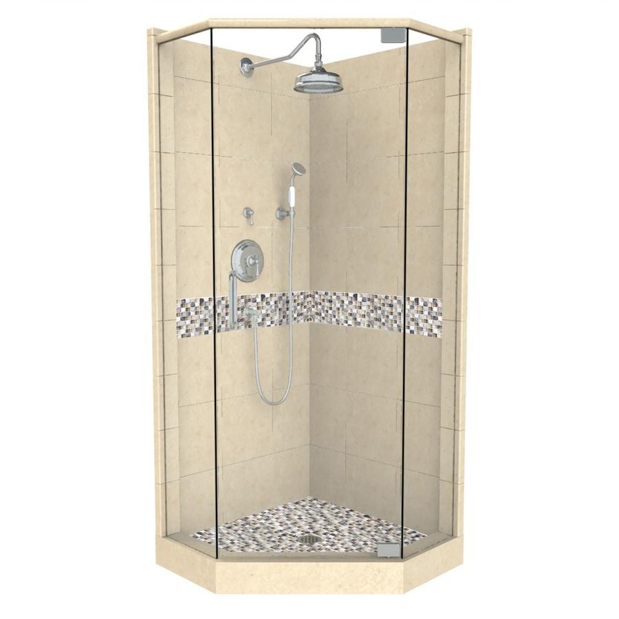 Shop American Bath Factory Java Medium With Accent Fiberglass And Plastic Neo