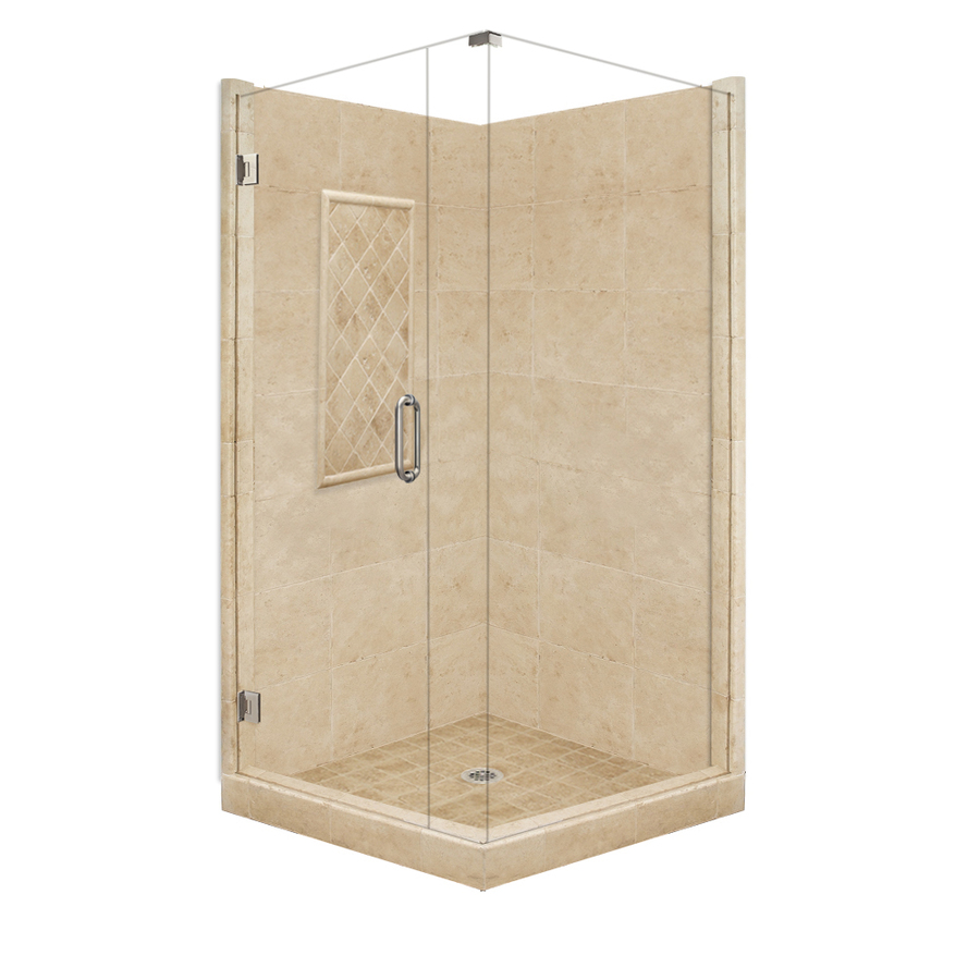 Square Corner Shower Kit Actual 86 In X 36 In X 48 In At