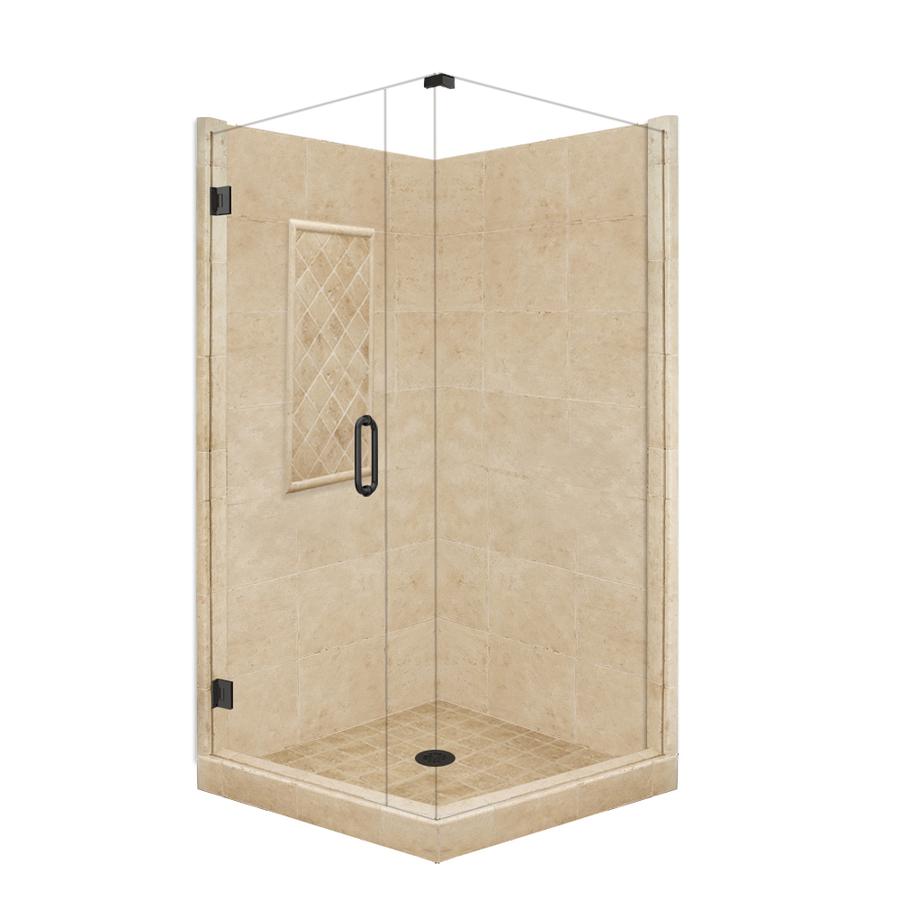 Shop American Bath Factory Panel Medium Fiberglass And