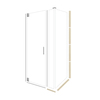 American Bath Factory 70-in H x 34.75-in W Sonoma Shower Glass Panel