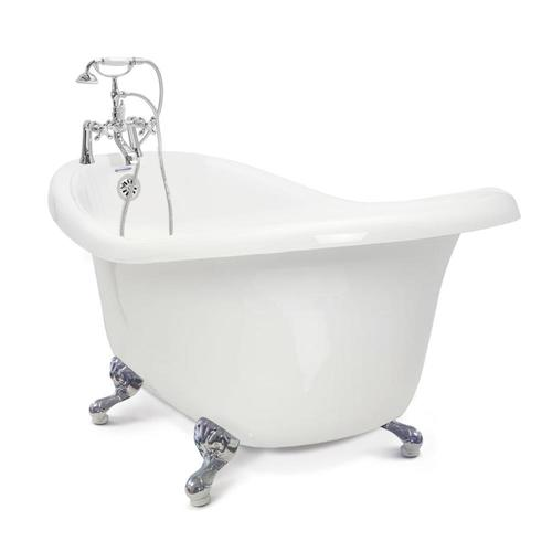 american bath factory round clawfoot tub from lowes tubs