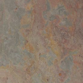 allen + roth 10-Pack Multicolour Slate Floor and Wall Tile (Common: 12-in x 12-in; Actual: 11.81-in x 11.81-in)