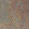 allen + roth 10-Pack 11.81-in x 11.81-in Multicolor Natural Slate Floor Tile