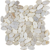 Anatolia Tile River Rock 5-Pack Cream Flat Polished Mosaic Wall Tile (Common: 13-in x 13-in; Actual: 12-in x 12-in)