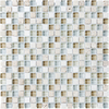 12-in x 12-in Blue Beige Tones Wall Tile