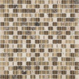 "12""W x 12""L Java Glass Tile"