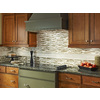 Anatolia Tile Cashmere Mosaic Stone and Glass Wall Tile (Common: 12-in x 12-in; Actual: 11.88-in x 12-in)