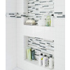 allen + roth Venatino Mosaic Stone and Glass Wall Tile (Common: 12-in x 12-in; Actual: 11.88-in x 12-in)