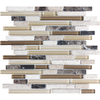 Anatolia Tile Java Mosaic Stone and Glass Wall Tile (Common: 12-in x 12-in; Actual: 11.88-in x 12-in)