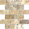 12-in x 12-in Multicolor Natural Stone Wall Tile