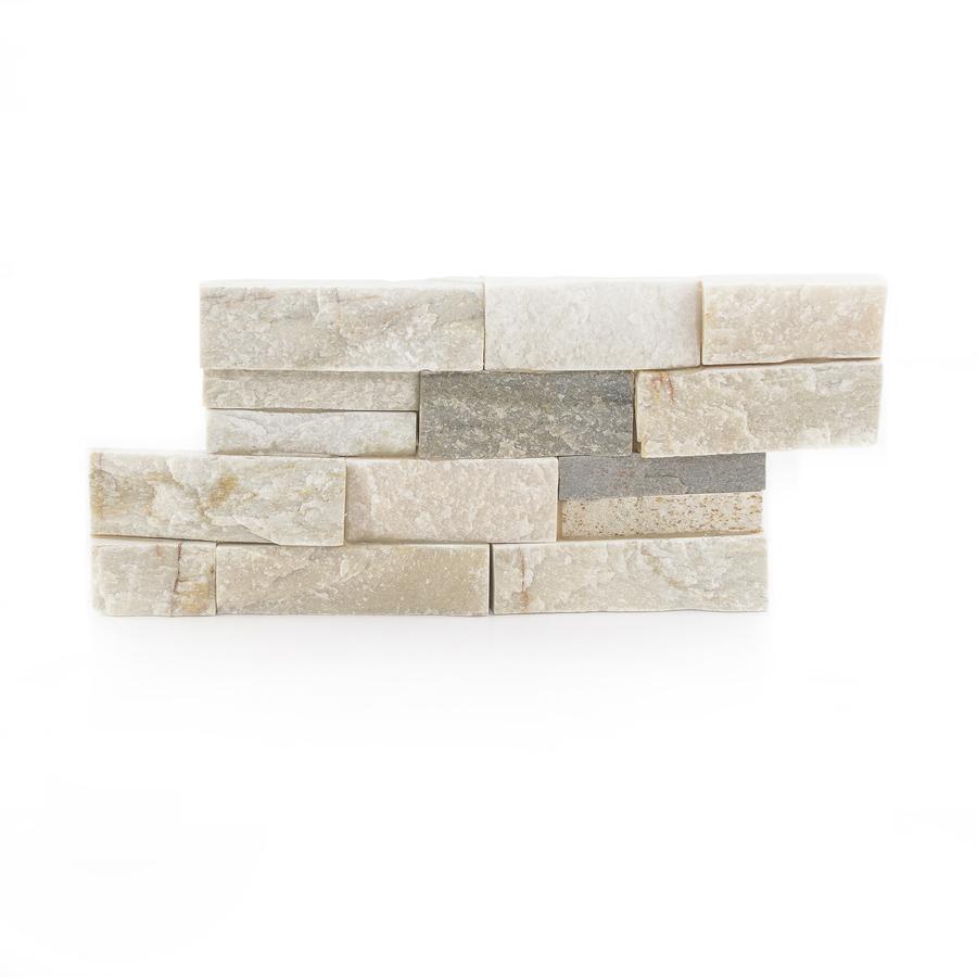 Desert Quartz Ledgestone Natural Stone Random IndoorOutdoor Wall Tile