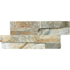 Desert Quartz Ledgestone Split Face Natural Stone Random Indoor/Outdoor Wall Tile (Common: 6-in x 12-in; Actual: 5.9-in x 11.81-in)