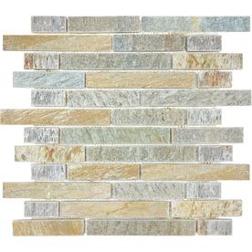 Desert Quartz Mosaic Wall Tile (Common: 12-in x 12-in; Actual: 12-in x 12-in)
