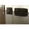 Anatolia Tile Absolute Black Granite Floor and Wall Tile (Common: 12-in x 12-in; Actual: 12-in x 12-in)