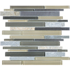 allen + roth 12-in x 14-in Lakeshore Mixed Material Wall Tile