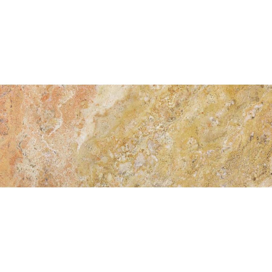 shop anatolia tile scabos travertine natural stone wall