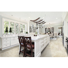 allen + roth Ivory Travertine Floor and Wall Tile (Common: 12-in x 12-in; Actual: 12-in x 12-in)
