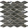 allen + roth Metal Twist Stainless Steel Metal Mosaic Random Wall Tile (Common: 12-in x 12-in; Actual: 10.9-in x 11.41-in)