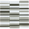 allen + roth City Links Glass Mosaic Random Wall Tile (Common: 12-in x 12-in; Actual: 11.38-in x 11.93-in)