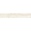 Anatolia Tile Ivory Travertine Premium Natural Stone Chair Rail Tile (Common: 2-in x 12-in; Actual: 1.77-in x 12-in)