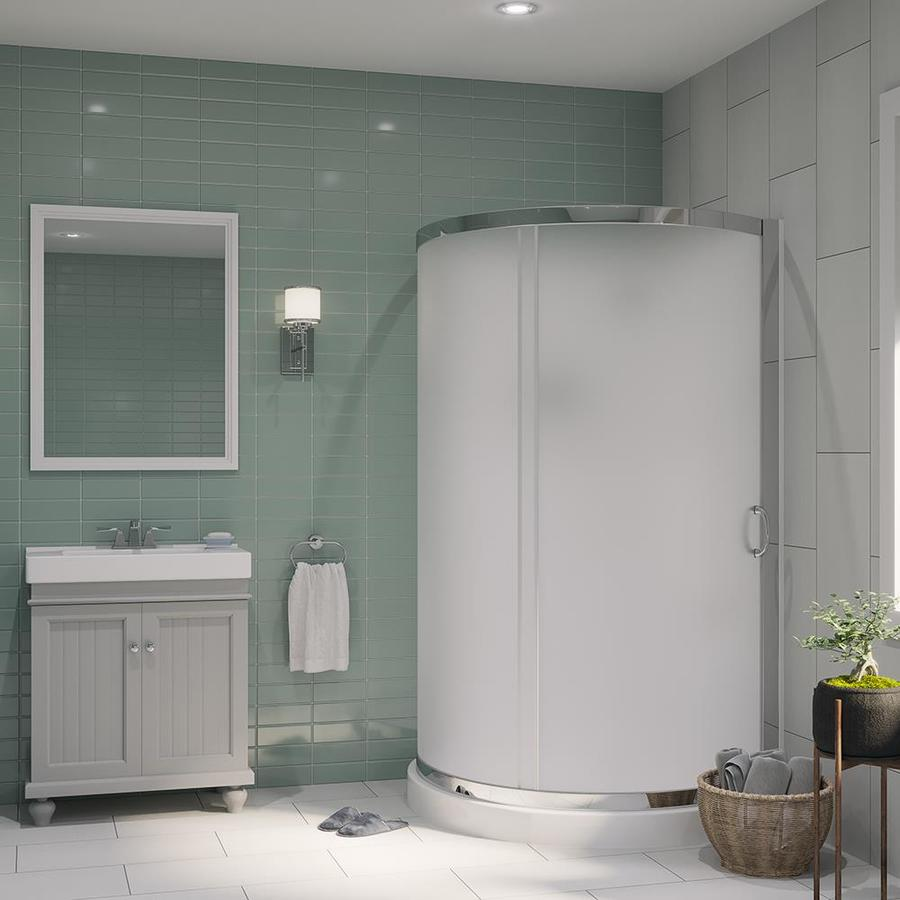 Piece Corner Shower Kit Actual 76 In X 38 In X 38 In At
