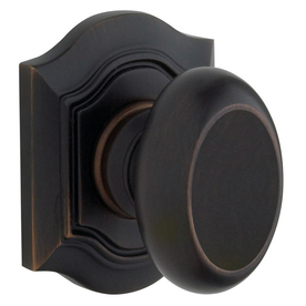 Shop BALDWIN Bethpage Oil-Rubbed Bronze Residential Dummy Door ...