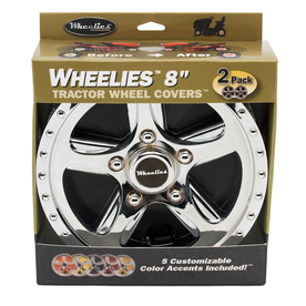 GOOD VIBRATIONS 8-in Tractor Wheel Cover