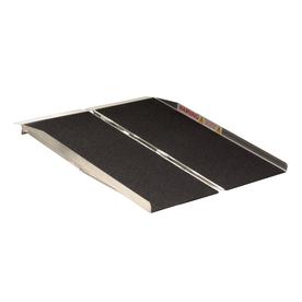 4-ft x 30-in Aluminum Folding Entryway Wheelchair Ramp
