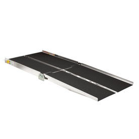 7-ft x 30-in Aluminum Folding Entryway Wheelchair Ramp