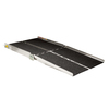 7-ft x 36-in Aluminum Folding Entryway Wheelchair Ramp