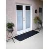 1.02-ft x 42-in Rubber Threshold Doorway Wheelchair Ramp