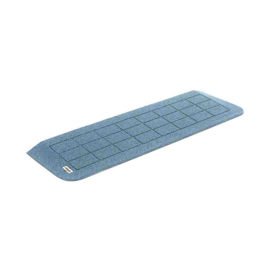 No Easy Off Ramps >> Shop 1-ft x 42.75-in Plastic Threshold Doorway Wheelchair Ramp at Lowes.com