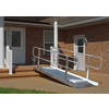 4-ft x 36-in Aluminum Solid Entryway Wheelchair Ramp