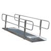 5-ft x 36-in Aluminum Solid Entryway Wheelchair Ramp