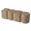 Tan Geometric Edging Stone (Common: 3-in x 12-in; Actual: 3.1-in H x 12-in L)