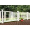 Fiberon Composite Deck Post Cap (Actual: 5.8-in x 5.8-in)