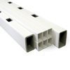 Severe Weather 68-in White Composite Deck Railing Kit