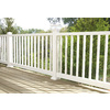 Severe Weather White Composite Deck Railing (Common: 3.5-in x 4-in x 6.0416-ft; Actual: 3.5-in x 4-in x 6.041-ft)